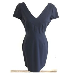 Banana Republic Lightweight Wool Suiting Dress 8